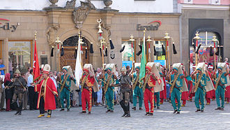 Ottoman military band - A modern mehter troop