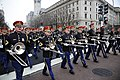 Members of the U.S. Army Band march down Pennsylvania Avenue during the dress rehearsal for the presidential inaugural parade in Washington, D.C 130113-A-XO421-031.jpg
