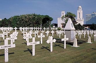 Tebet, South Jakarta - Menteng Pulo Dutch Cemetery in Menteng Dalam Kelurahan, Tebet Subdistrict.