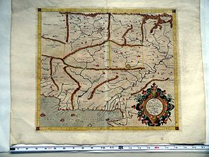 Carmania (region) - Image: Mercator Map (1578) Asiae Tabula IX