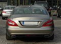 Mercedes-Benz CLS 350 BlueEFFICIENCY Edition 1 (C 218) – Heckansicht, 16. April 2011, Düsseldorf.jpg