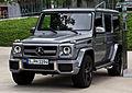 Mercedes-Benz G 63 AMG (W 463, 3. Facelift) – Frontansicht, 7. August 2012, Stuttgart.jpg