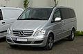 Mercedes-Benz Viano Lang CDI 2.2 BlueEFFICIENCY Trend Edition (V 639, Facelift) – Frontansicht, 16. April 2011, Hilden.jpg