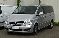 Mercedes-Benz Viano Lang CDI 2.2 BlueEFFICIENCY Trend Edition (V 639, Facelift) – Frontansicht, 16. April 2011, Hilden.jpg