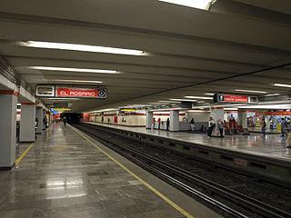 Metro Deportivo 18 de Marzo Mexico City metro station