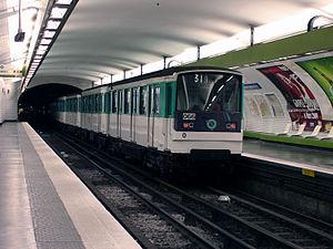 Quatre-Septembre (Paris Métro) - Image: Metro de Paris Ligne 3 Quatre Septembre 03