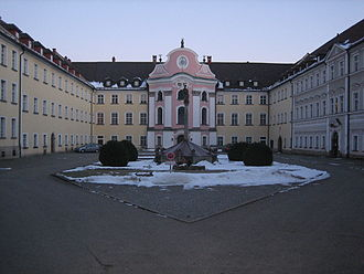 Metten Abbey - Image: Metten Abbey 1