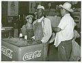 Mexican and negro cotton pickers inside plantation store, Kn... (3109740553).jpg
