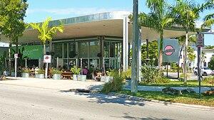 Miami Modern architecture - Image: Mi Mo restaurant 20110218