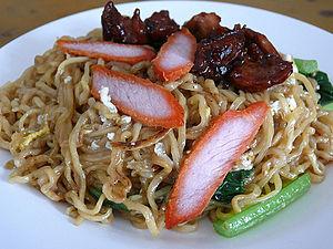 Sabahan cuisine - Tuaran mee.