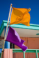 Miami - Lifeguard tower and flags - 0621.jpg