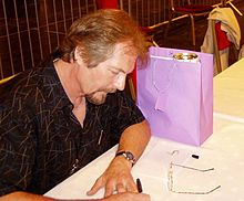 Michael Whelan at the 63rd World Science Fiction Convention in Glasgow, August 2005