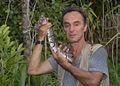 Michel AYMERICH avec un Python royal en Guinée.jpg