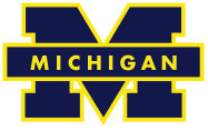 English: Michigan Wolverines Logo.