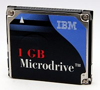 IBM 1 GB Microdrive