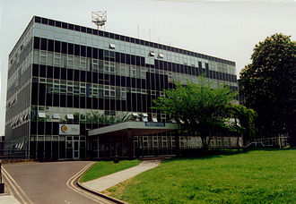 MidKent College - Former Midkent College in City Way, Rochester in May 2009