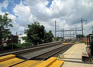 Middletown station (Pennsylvania) Amtrak rail station in Middletown, Pennsylvania, USA