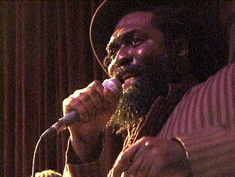 Mikey Dread - Mikey Dread performing at SOB's NYC on 8 April 2003