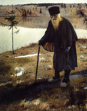 Mikhail Nesterov - The Hermit
