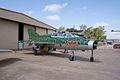 Mikoyan-Gurevich MiG-21US Mongol-B RSideFront CFM 7Oct2011 (15322002901).jpg