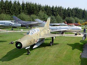 Mikoyan Gurevich MiG-21US, 24 08, CN 12408-238 .JPG