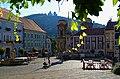 Mikulov - Kostelní náměstí - View East on Svatá Kopecká.jpg