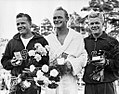 Miller Anderson, David Browning, Bob Clotworthy 1952.jpg