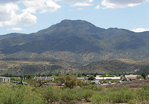 Mingus Mountain - Mingus Mountain viewed from Cottonwood, Arizona