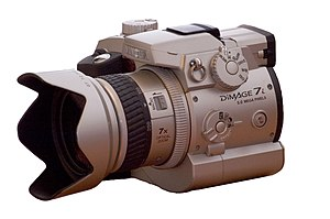 Minolta Dimage 7 series - Minolta Dimage 7i