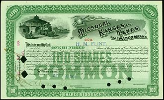 Missouri–Kansas–Texas Railroad - Image: Missouri, Kansas and Texas RW 1904