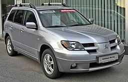 Mitsubishi Outlander I (2003-2006) front