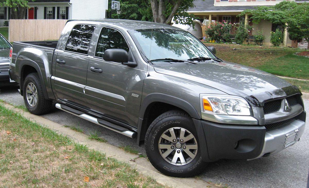 2009 mitsubishi raider ls extended cab pickup 3 7l v6 manual 6 4 rh carspecs us