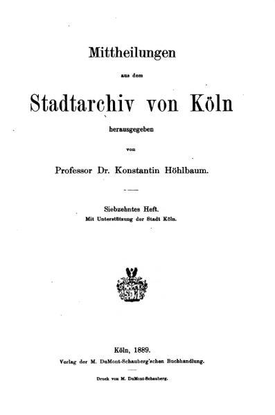 File:Mitteilungen aus dem Stadtarchiv von Köln 1889-17.djvu