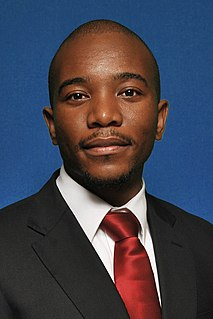 Leader of the Opposition (South Africa) parliamentary title in South Africa