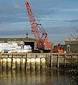 Mobile Grab Crane at New Holland Dock - geograph.org.uk - 1560082.jpg