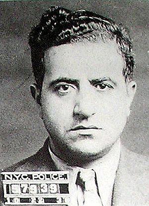 Frank Costello - Albert Anastasia's mugshot
