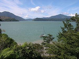 Pelorus Sound - The inner Pelorus Sound