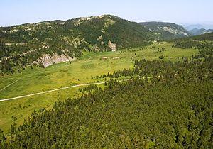 Mokra Gora (mountain) - Image: Mokra gora