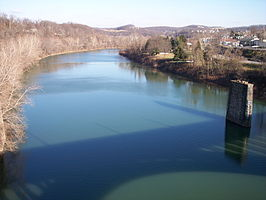 De Monongahela in Fairmont, West Virginia