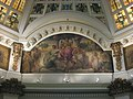 Monroe County Courthouse in Bloomington, rotunda northern side painting.jpg