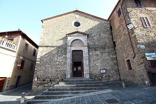 Chiesa di Sant'Egidio, facciata