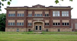 Montmorenci, Indiana - Image: Montmorenci School