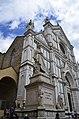 Monument to Dante Alighieri in front of Santa Croce facade (Florence).jpg