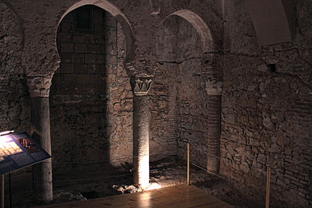 Gibraltar's Moorish Baths, now incorporated into the Gibraltar Museum Moorish Baths, Gibraltar Museum 09.jpg