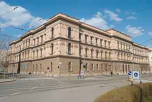 Margraviate of Moravia - The former Moravian Diet building. It now houses the Constitutional Court of the Czech Republic.