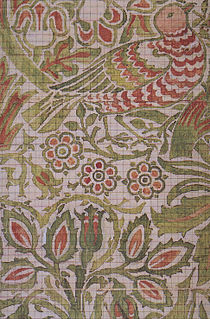 creation of designs for the manufacturing of woven, knitted or printed fabrics