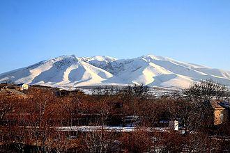 Ara (mountain) - Image: Mount Ara, Aragatsotn, Armenia, by Alexander Mkhitaryan