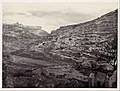 Mount Moriah, Jerusalem, from the Well of En Rogel MET DP116364.jpg