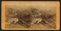 Mouth of the Devil's Kanyon, from Crater Bluff, by Muybridge, Eadweard, 1830-1904.png