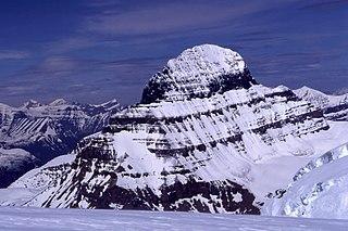 Mount Alberta Mountain in Jasper NP, Alberta, Canada